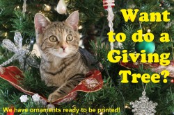 Create a Giving Tree and help the animals